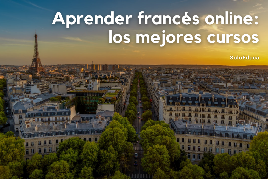 Aprender francés online SoloEduca foto París