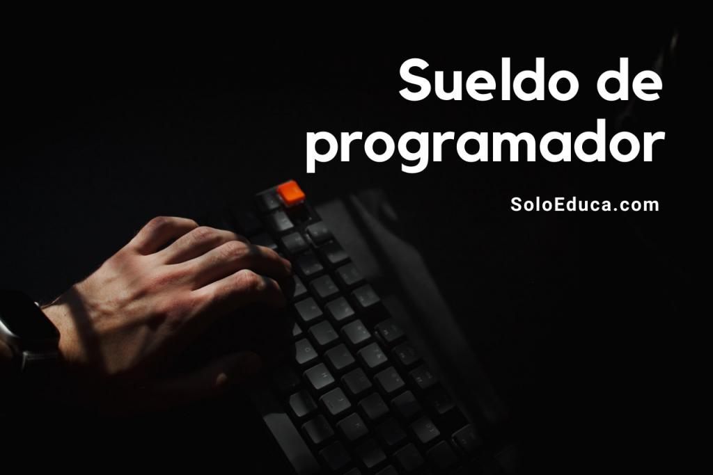 Sueldo programador informático SoloEduca